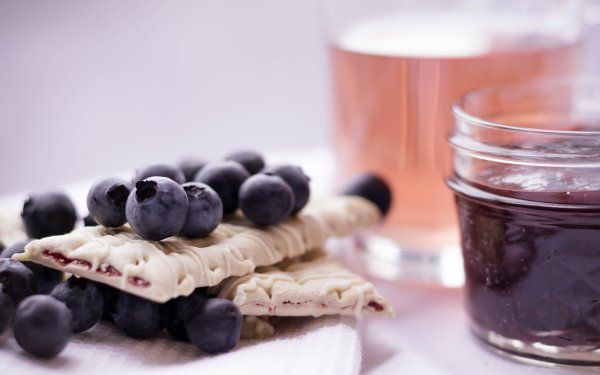 Food Sweets Berry Blueberry Jam HD Wallpaper | Background Image