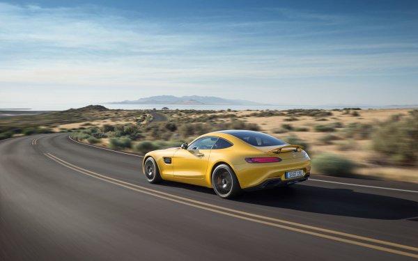 Vehicles Mercedes-Benz AMG GT Mercedes-Benz Mercedes-Benz AMG Yellow Car Supercar Sport Car Car HD Wallpaper | Background Image