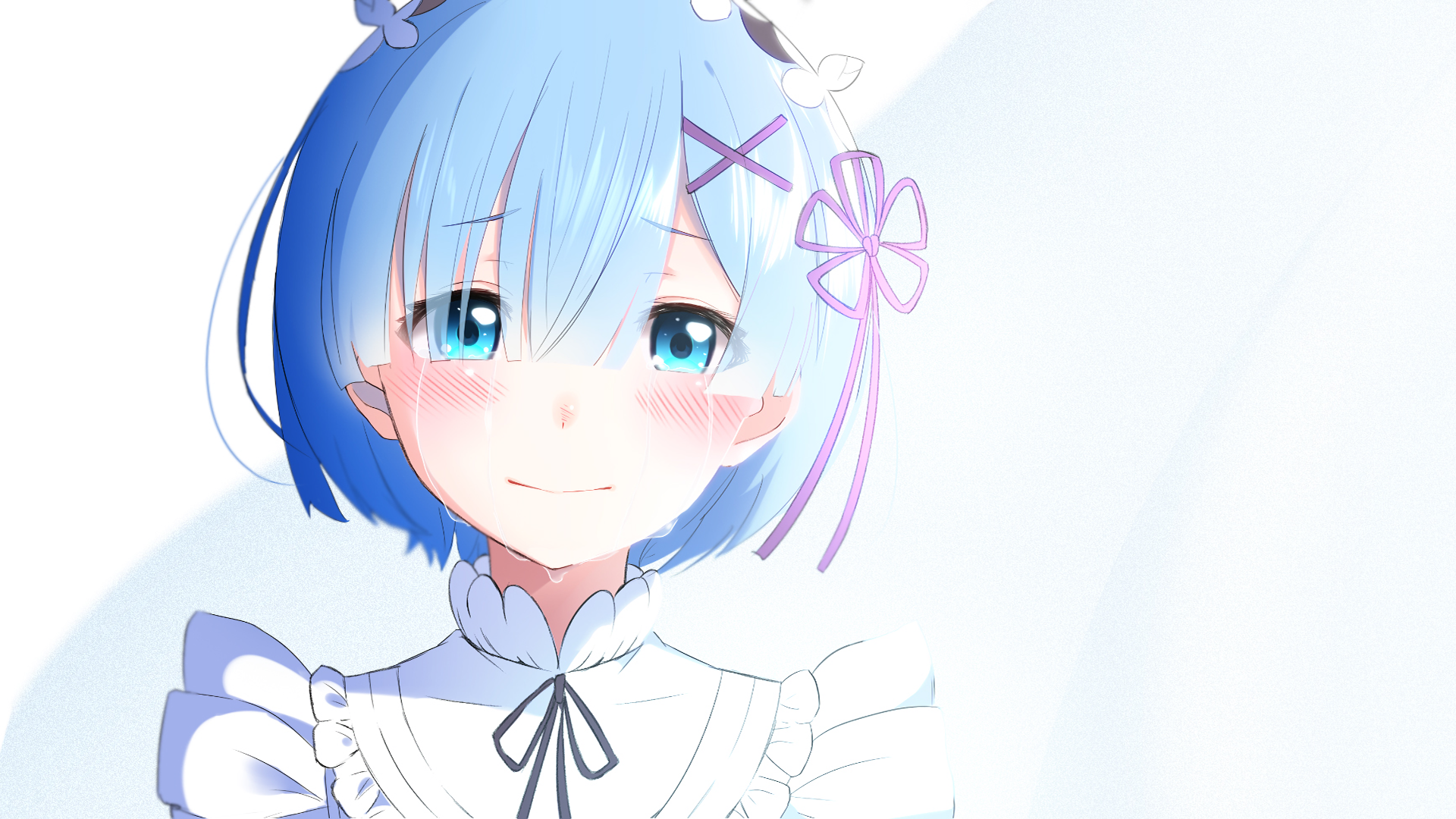 1578 Rem Re Zero Hd Wallpapers Background Images Wallpaper Abyss