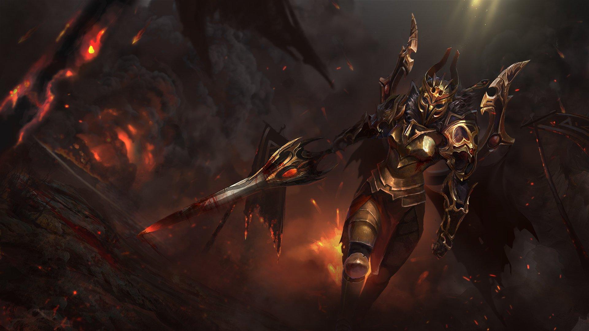 6 Legion Commander Dota 2 Hd Wallpapers Background