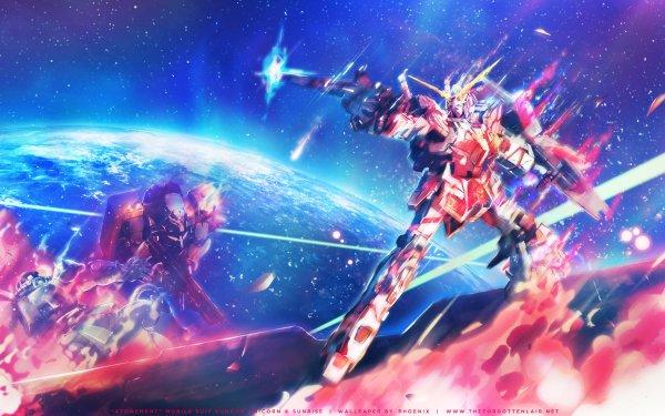 Anime Mobile Suit Gundam Unicorn Mobile Suit Gundam Gundam Unicorn HD Wallpaper   Background Image
