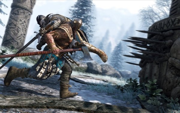 Video Game For Honor Viking Knight Warrior Axe HD Wallpaper   Background Image