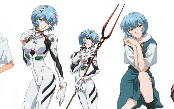 Anime Neon Genesis Evangelion Evangelion Rei Ayanami Shinji Ikari Mari Makinami Illustrious Fondo de pantalla HD | Fondo de Escritorio