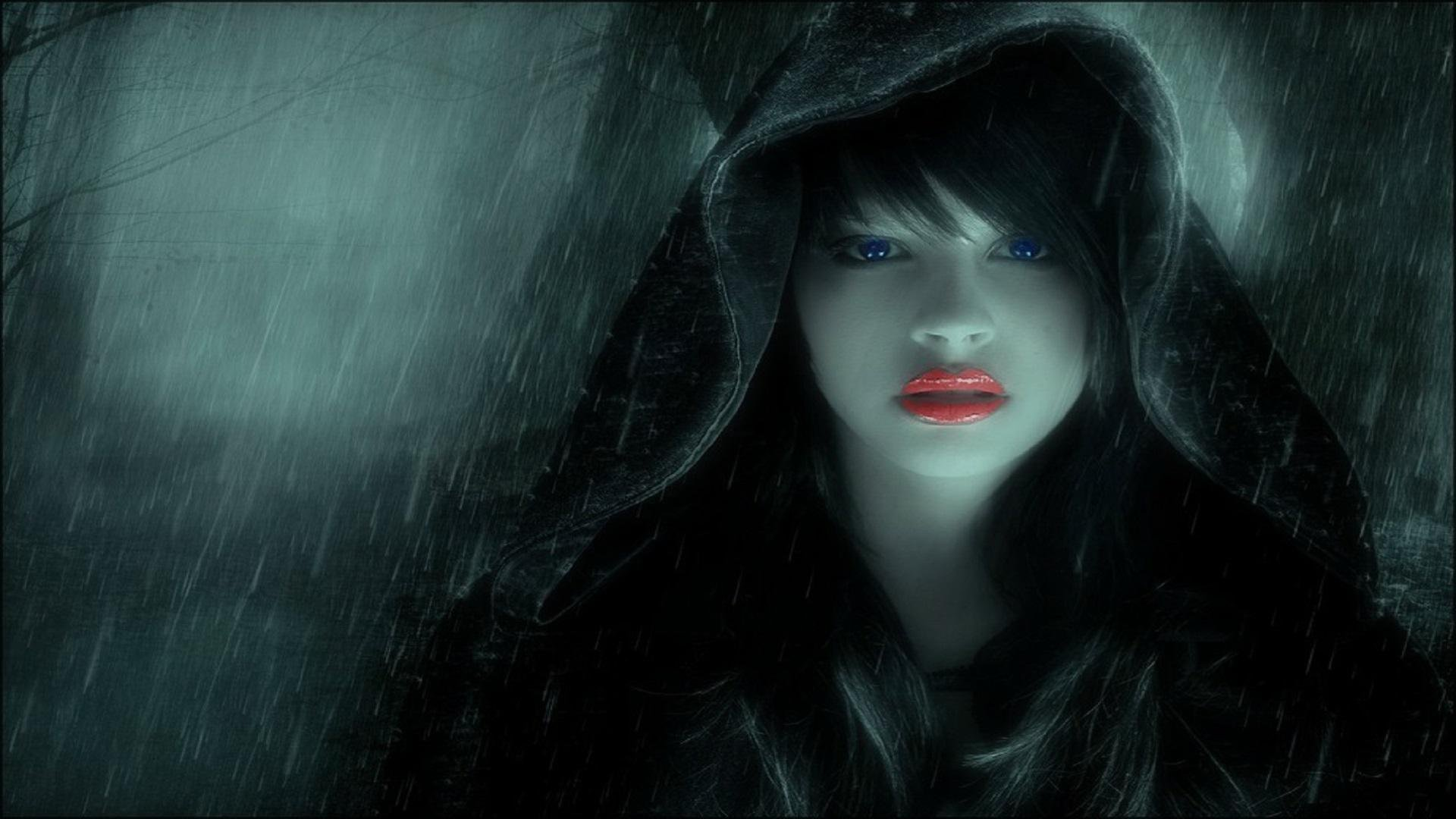 Dark Fantasy Girl Hd Wallpaper Background Image 1920x1080 Id 714428 Wallpaper Abyss