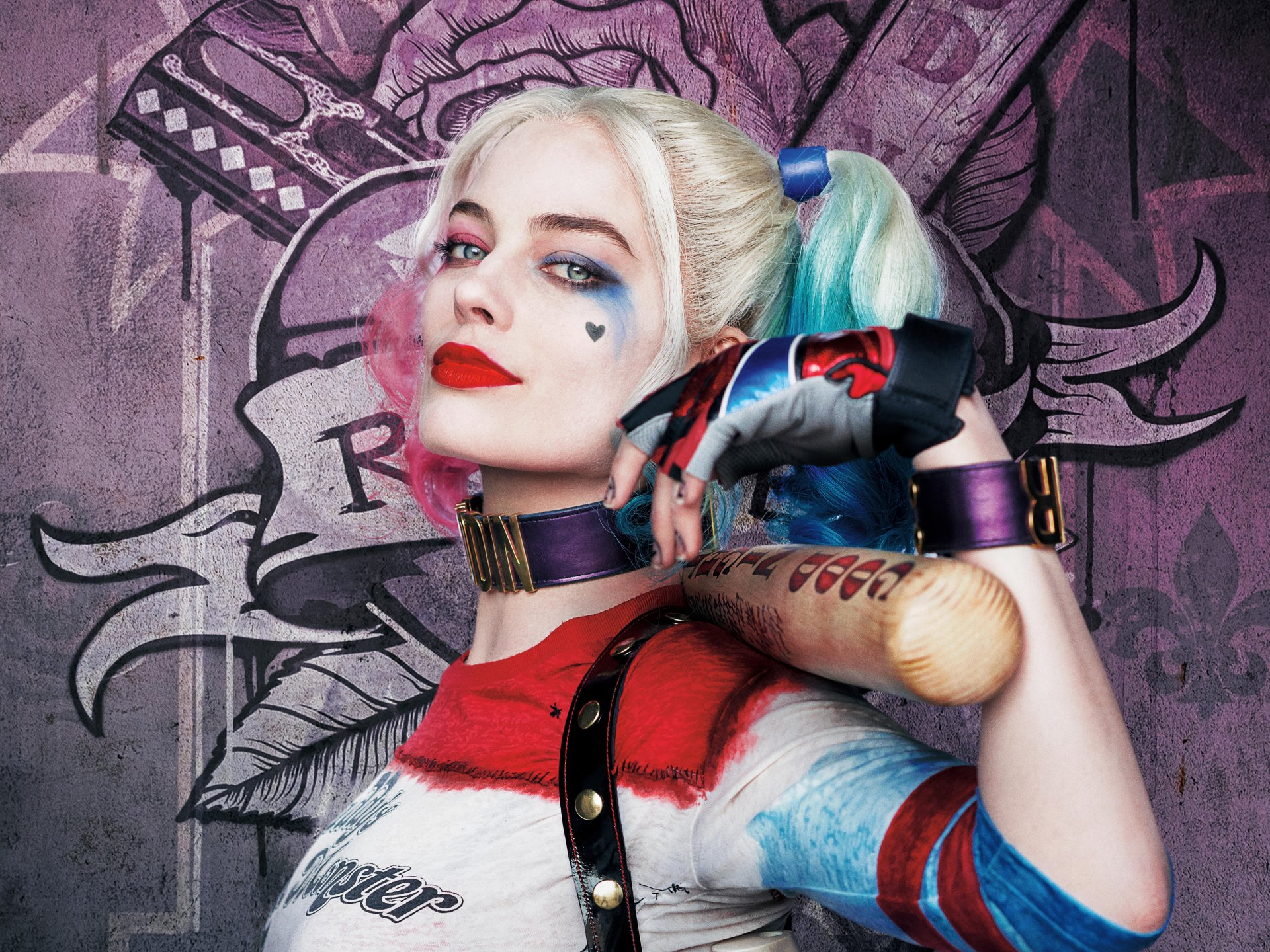 Movie - Suicide Squad  Harley Quinn Margot Robbie Wallpaper