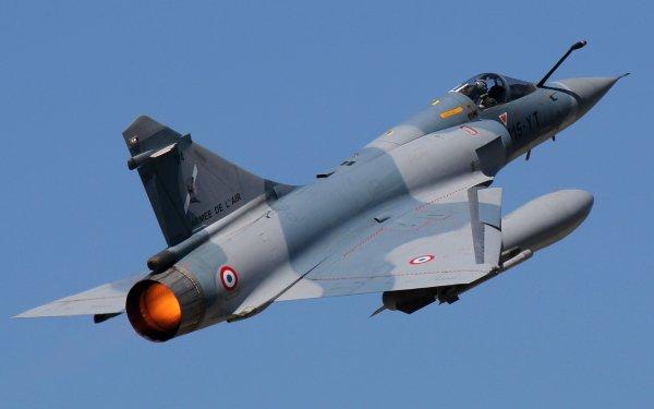 Military Dassault Mirage 2000 Jet Fighters Jet Fighter Aircraft Warplane HD Wallpaper | Background Image