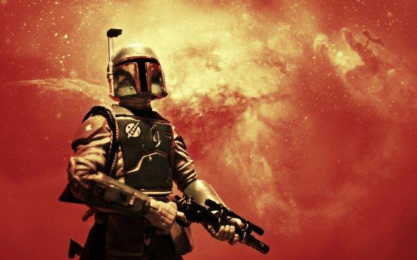 Sci Fi Star Wars Boba Fett Toy Figurine HD Wallpaper | Background Image