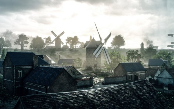 Video Game Battlefield 1 Battlefield Windmill HD Wallpaper | Background Image