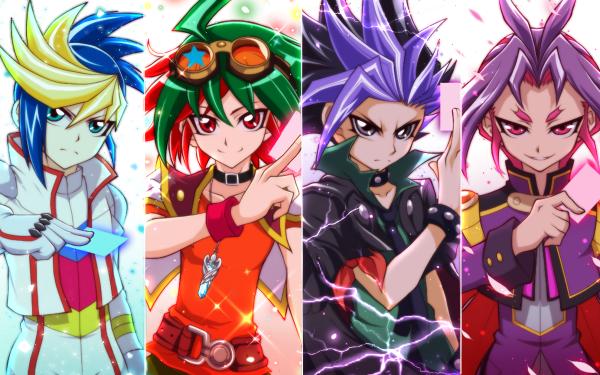 Anime Yu-Gi-Oh! Arc-V Yu-Gi-Oh! Yuya Sakaki Yuto Yugo Yuri HD Wallpaper | Background Image