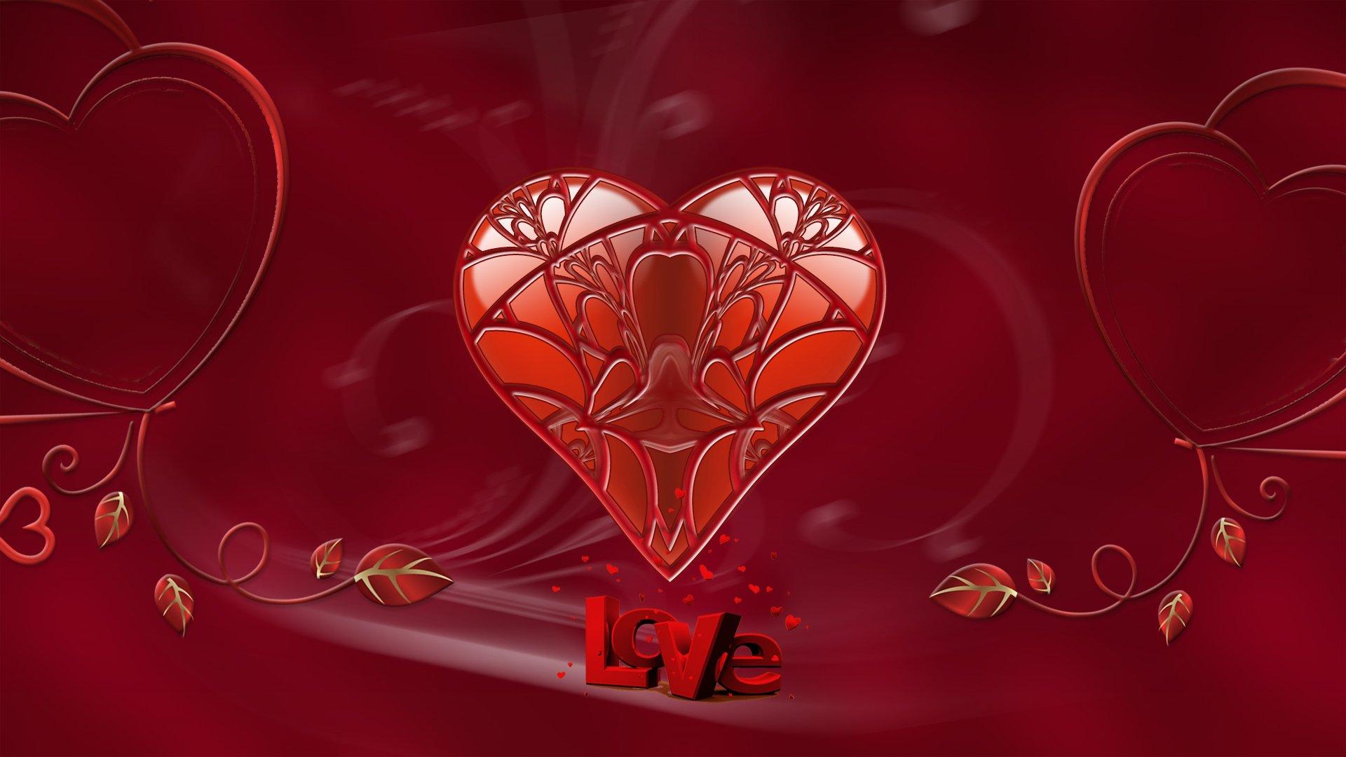 Valentinstag Hd Wallpaper Hintergrund 1920x1080 Id 717856