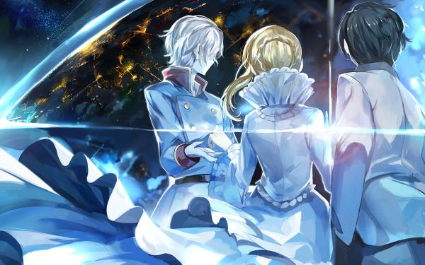 Anime Aldnoah.Zero Asseylum Vers Allusia Inaho Kaizuka Slaine Troyard HD Wallpaper | Background Image