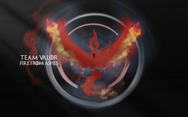 Video Game Pokémon GO Pokémon Team Valor HD Wallpaper   Background Image