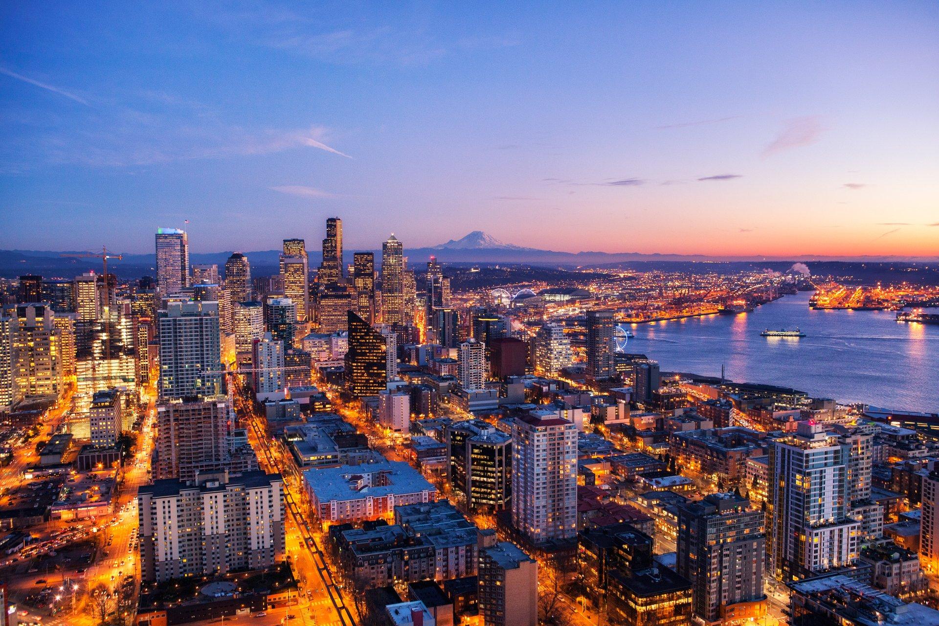 Seattle 4k Ultra Hd Wallpaper Background Image