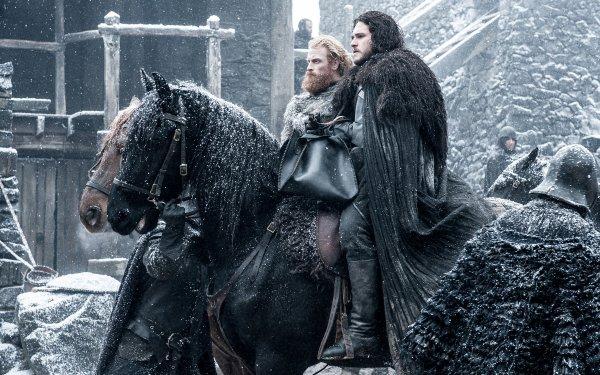 TV Show Game Of Thrones Jon Snow Kit Harington Tormund Giantsbane Kristofer Hivju HD Wallpaper | Background Image