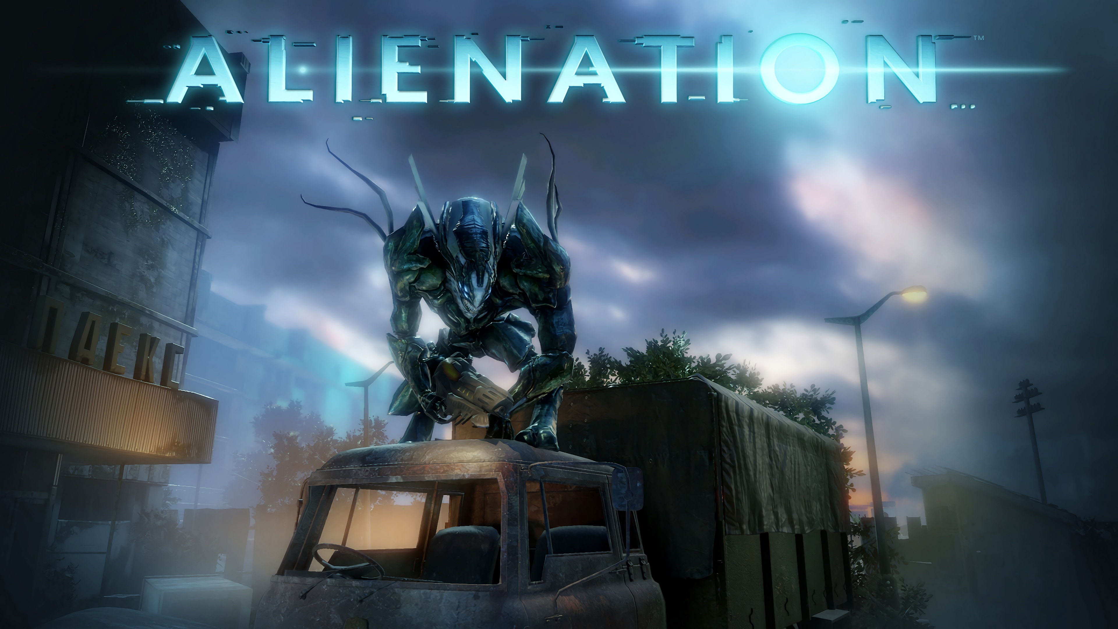 Alienation Ps4 4k Ultra Fond D Ecran Hd Arriere Plan