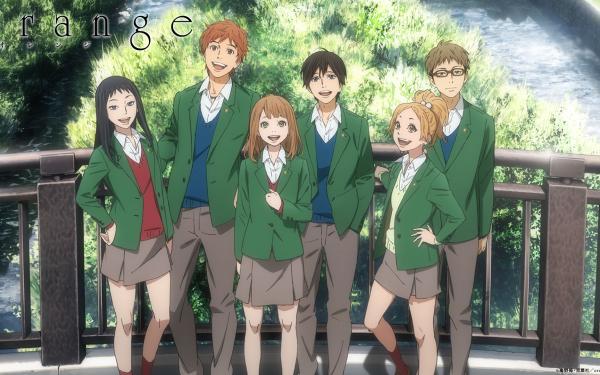 Anime Orange Naho Takamiya Kakeru Naruse Takako Chino Saku Hagita Azusa Murasaka Hiroto Suwa HD Wallpaper | Background Image