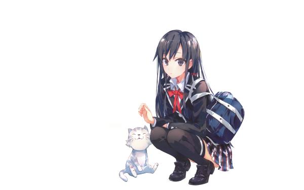Anime My Teen Romantic Comedy SNAFU Yukino Yukinoshita HD Wallpaper   Background Image