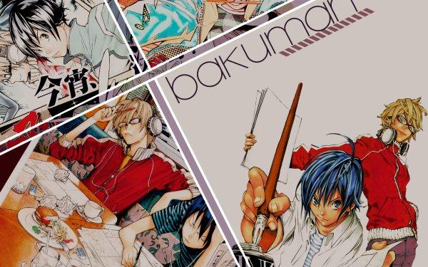 Anime Bakuman Akito Takagi Moritaka Mashiro Fond d'écran HD | Arrière-Plan