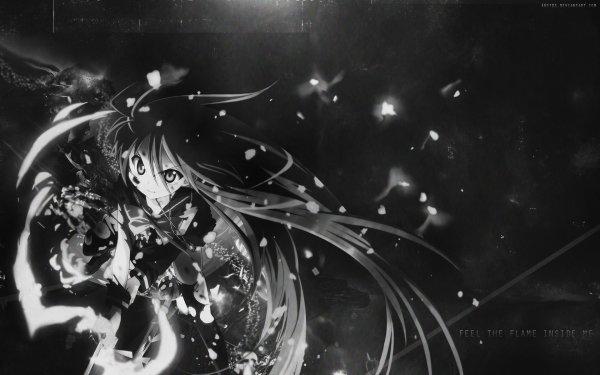 Anime Shakugan No Shana Shana Monochrome HD Wallpaper | Background Image