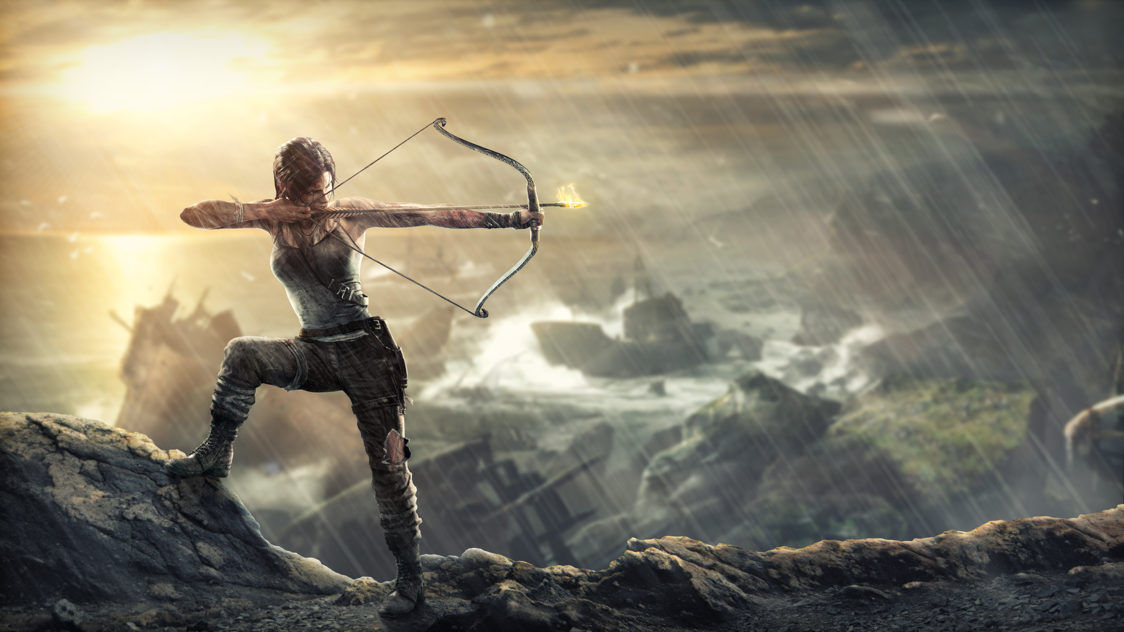 38 Tomb Raider 2013 Hd Wallpapers Background Images