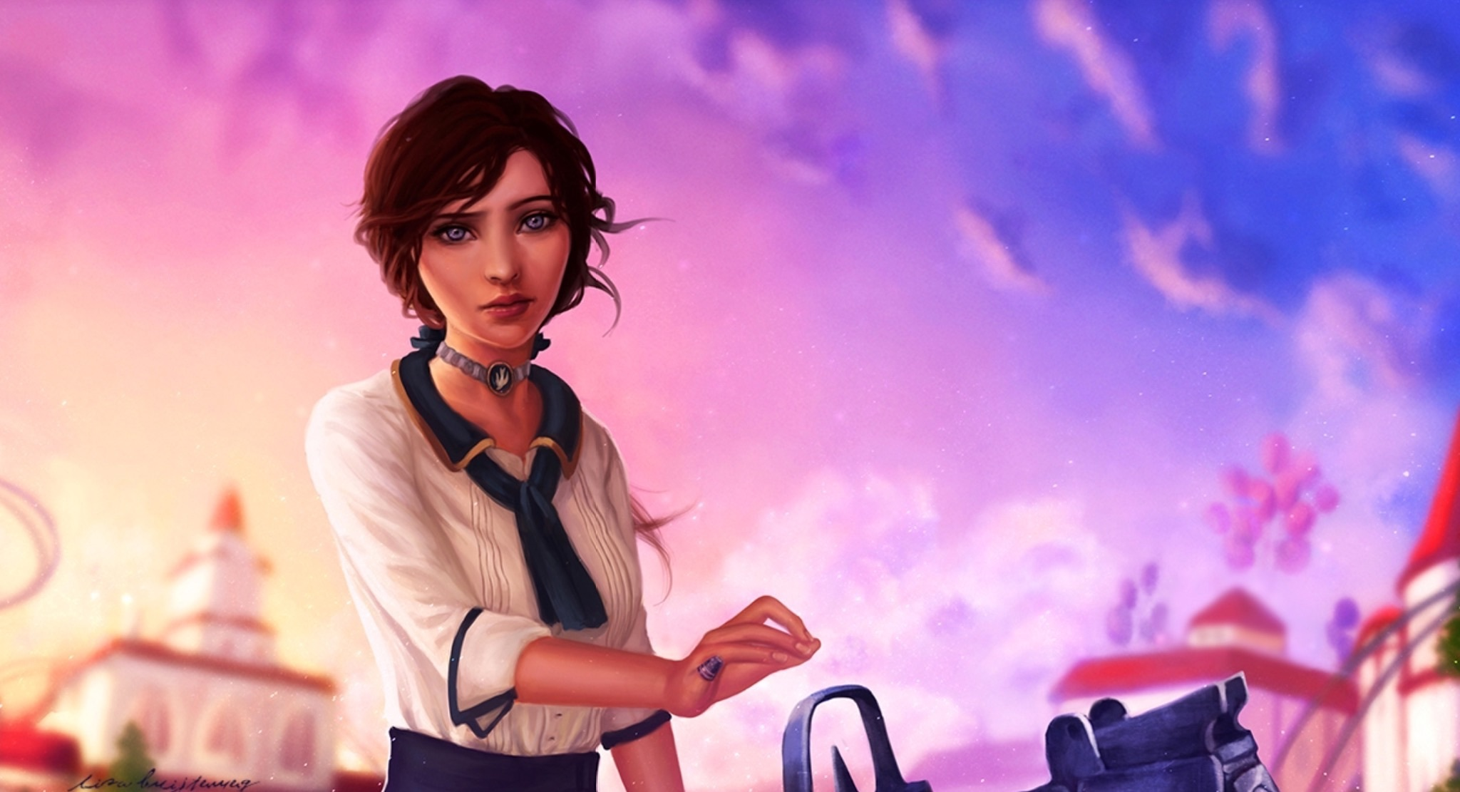 Bioshock Infinite HD Wallpaper | Background Image | 2048x1111 | ID:724788 - Wallpaper Abyss