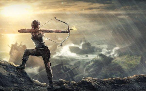 Jeux Vidéo Tomb Raider (2013) Tomb Raider Lara Croft Archer Fond d'écran HD | Arrière-Plan