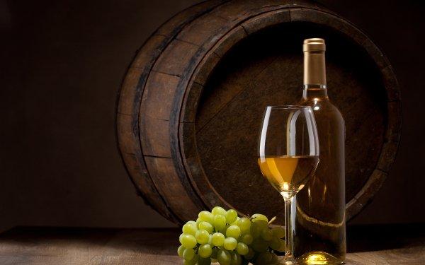 Food Wine Grapes Glass Still Life Barrel HD Wallpaper | Background Image