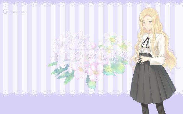 Anime Flowers Nerine Komikado HD Wallpaper   Background Image