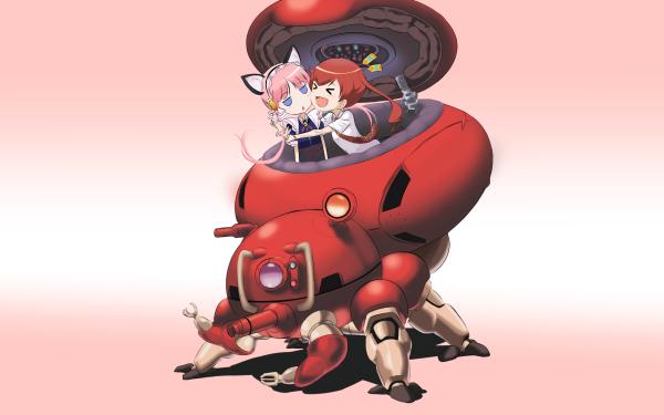 Anime Koukaku No Pandora Clarion Nene Nanakorobi Fondo de pantalla HD | Fondo de Escritorio