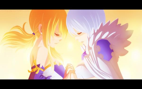 Anime Fairy Tail Lucy Heartfilia Yukino Aguria Fond d'écran HD | Image