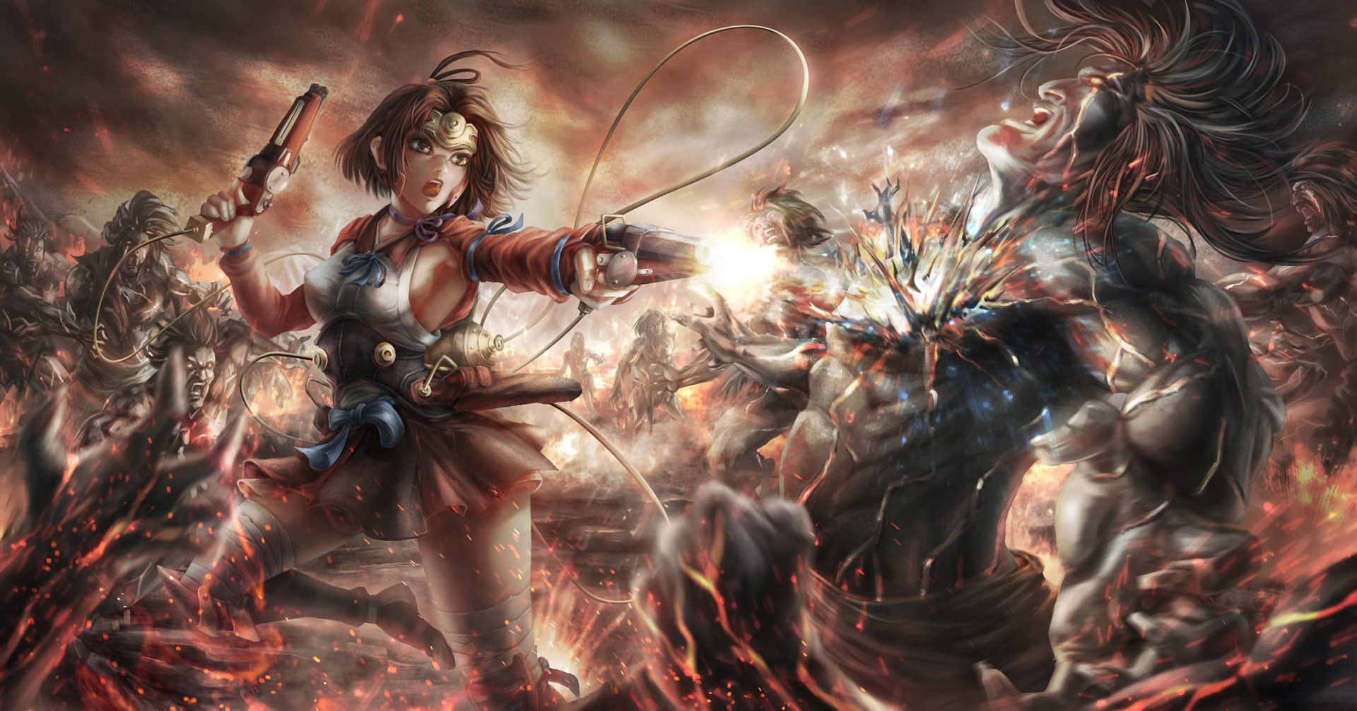 Kabaneri Of The Iron Fortress Wallpaper: Kabaneri Of The Iron Fortress Wallpaper And Background