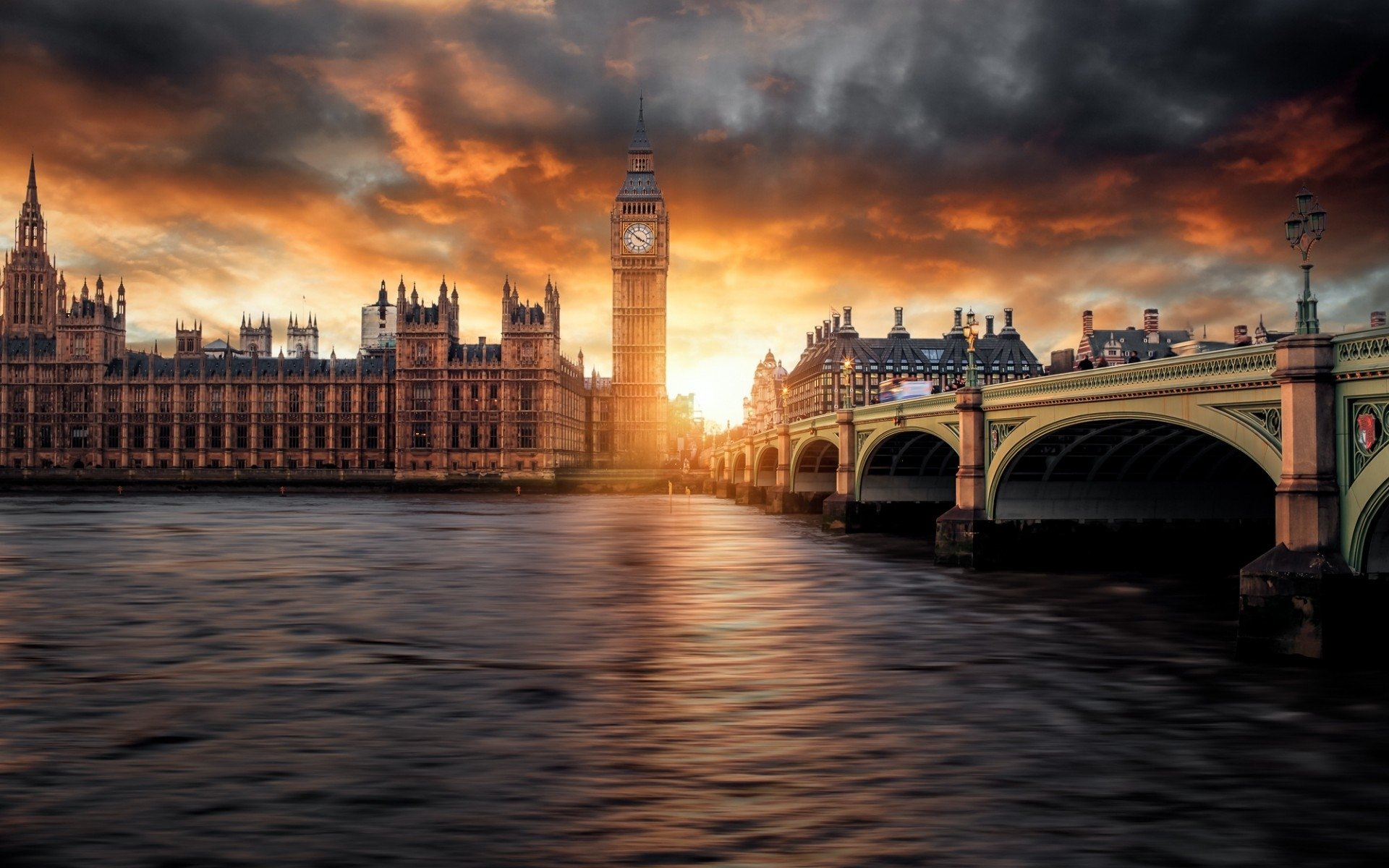 Обои london, Sunset. Города foto 7
