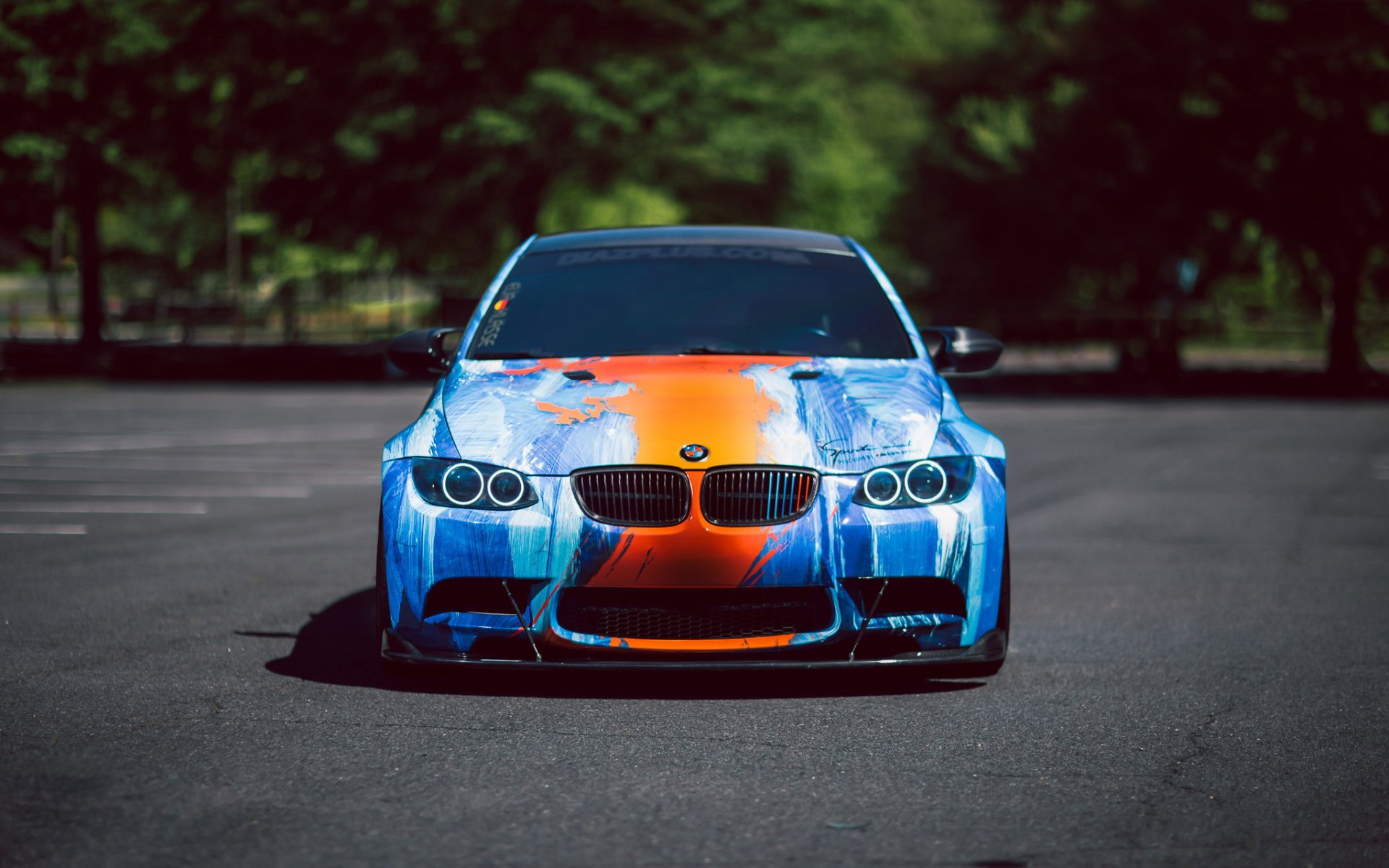 Vehicles - BMW M3  BMW Blue Car Car Vehicle Sport Car Wallpaper