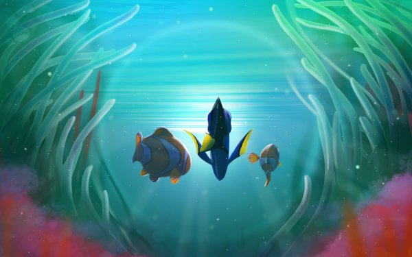 Movie Finding Dory Dory Nemo Marlin HD Wallpaper   Background Image