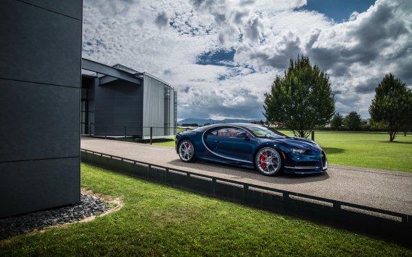 Fahrzeuge Bugatti Chiron Bugatti Autos Blue Car Sport Car Supercar HD Wallpaper | Hintergrund