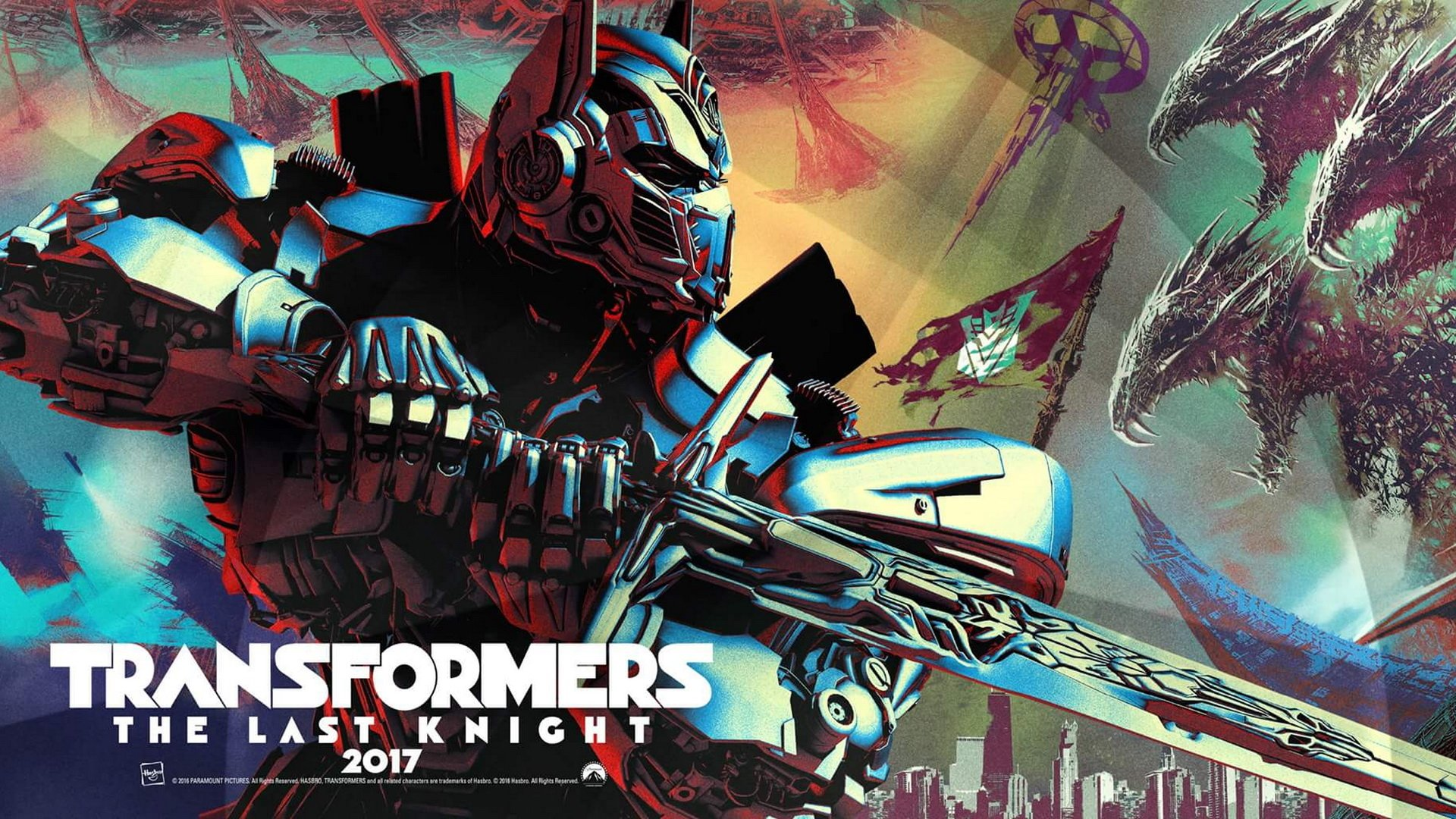 Transformers The Last Knight Full HD Wallpaper And Background Image