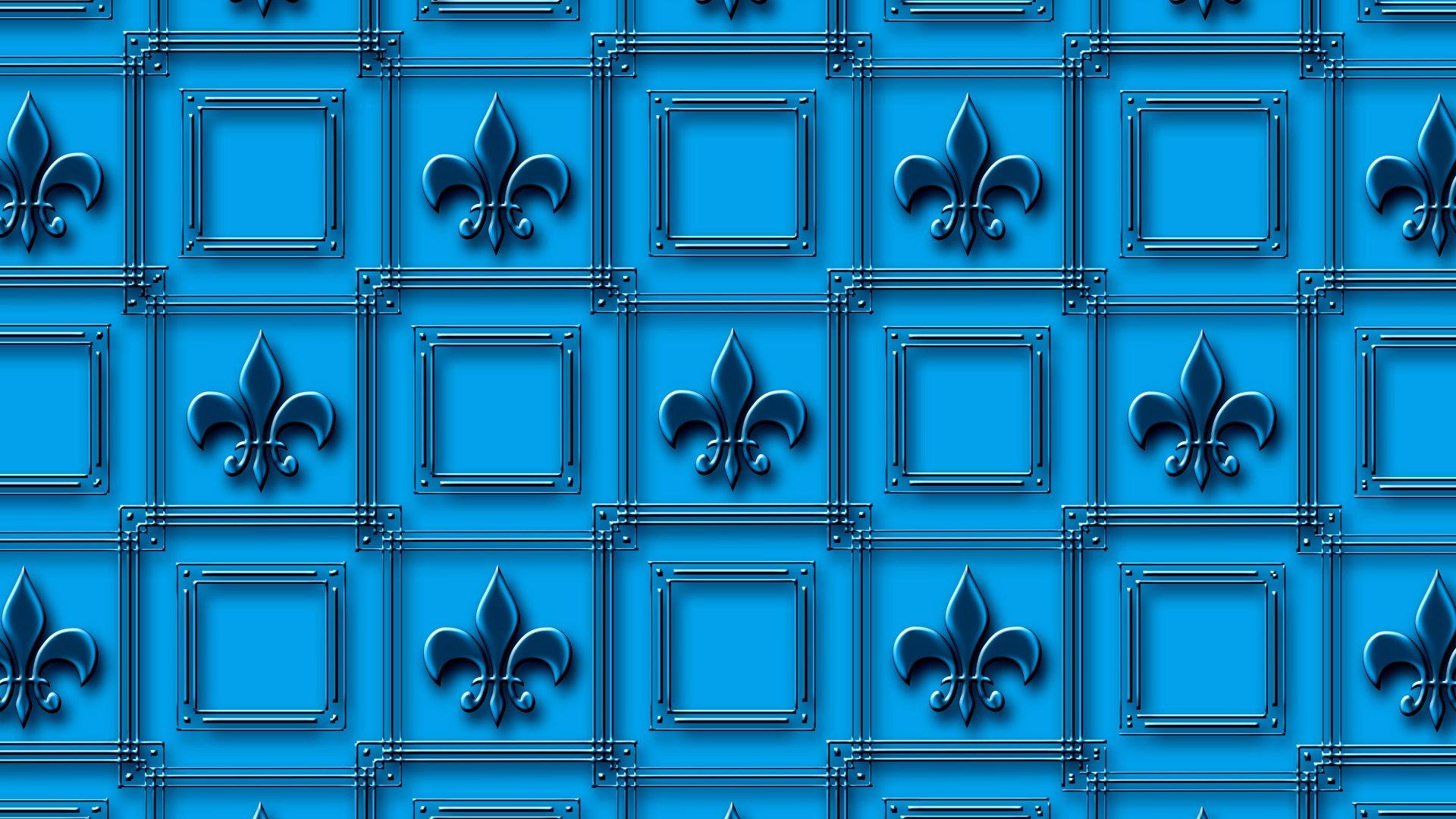 Fleur-de-Lis Pattern HD Wallpaper | Background Image ...