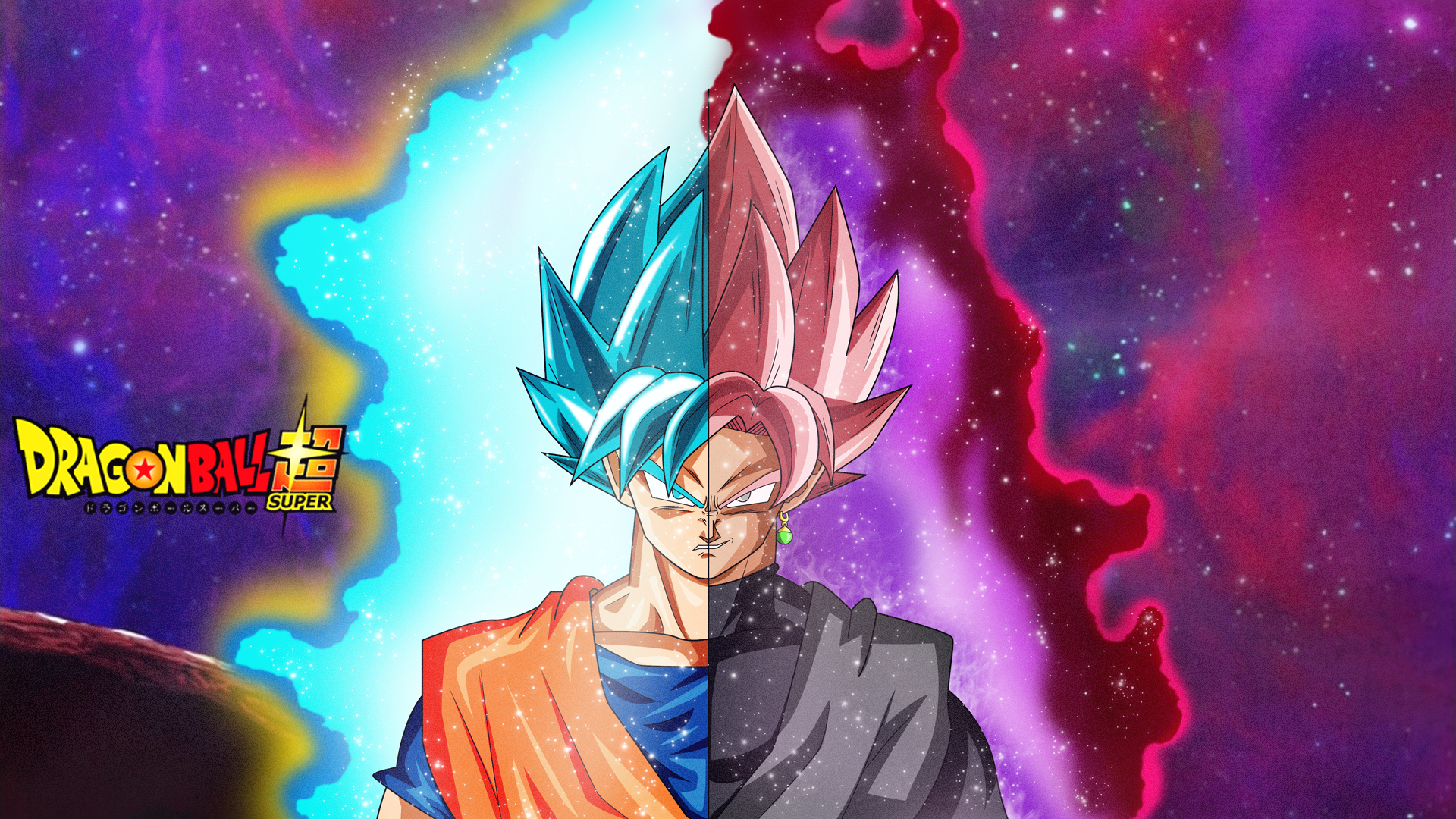 Dragon ball super full hd fond d 39 cran and arri re plan for Super fond ecran