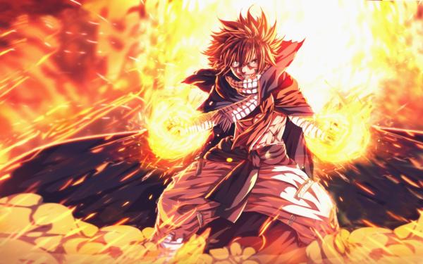 Anime Fairy Tail Natsu Dragneel Fond d'écran HD   Image