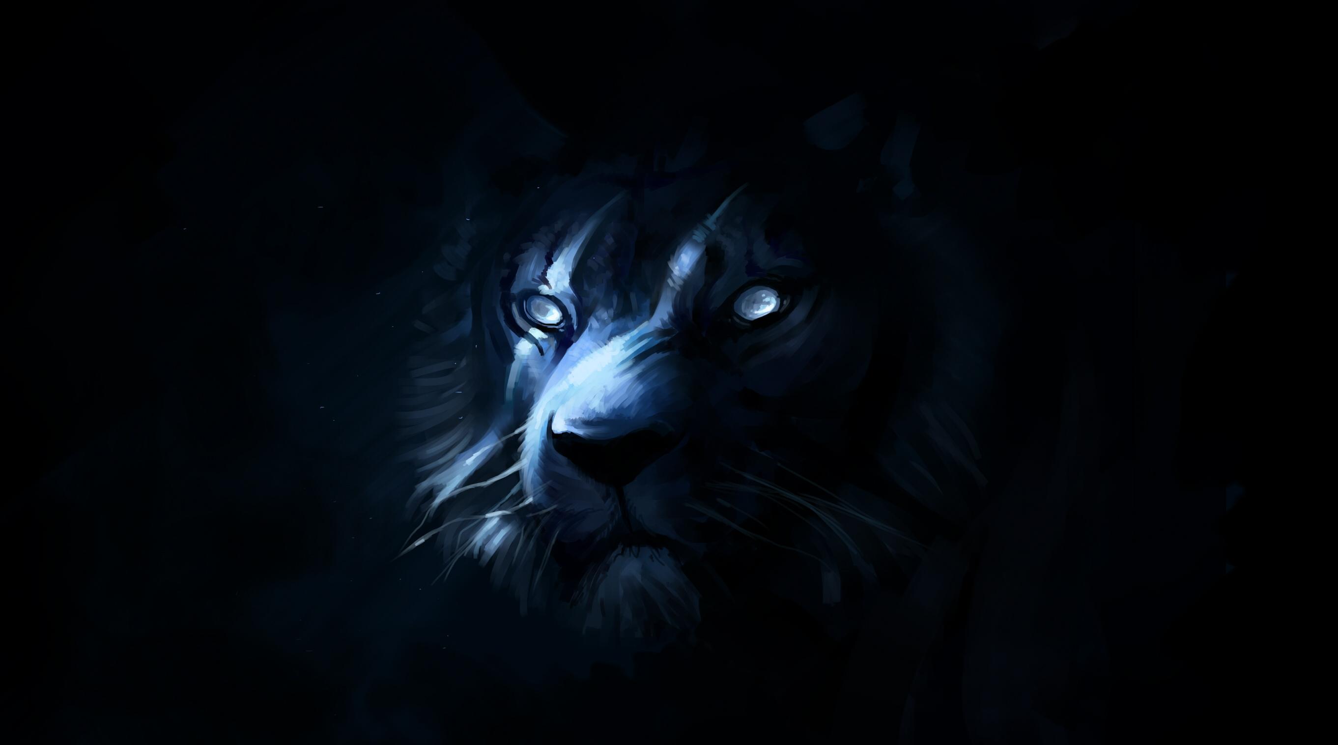 Black Tiger Images Hd Wallpaper