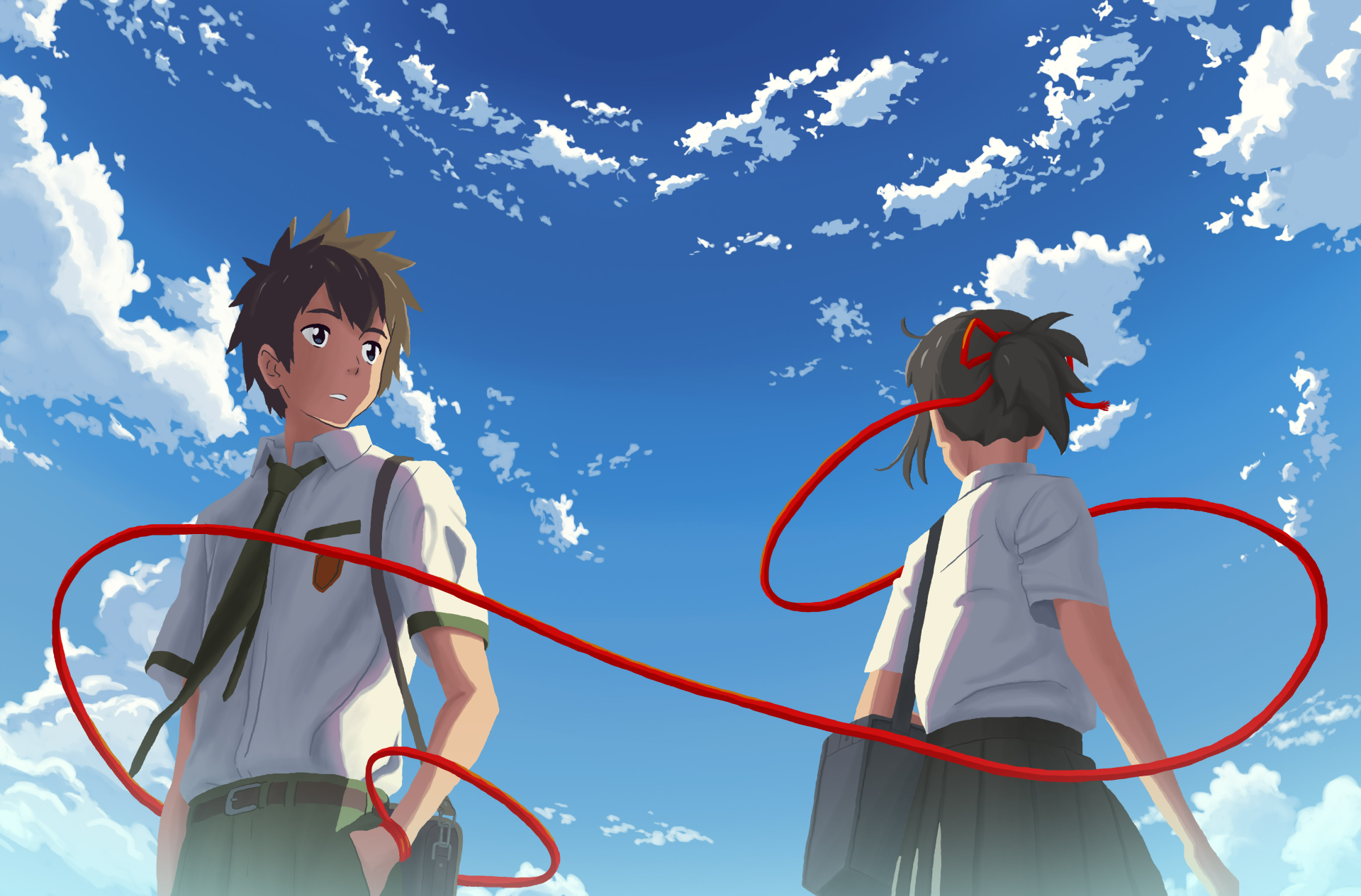 Your Name Hd Wallpaper Background Image 1920x1265 Id 737547