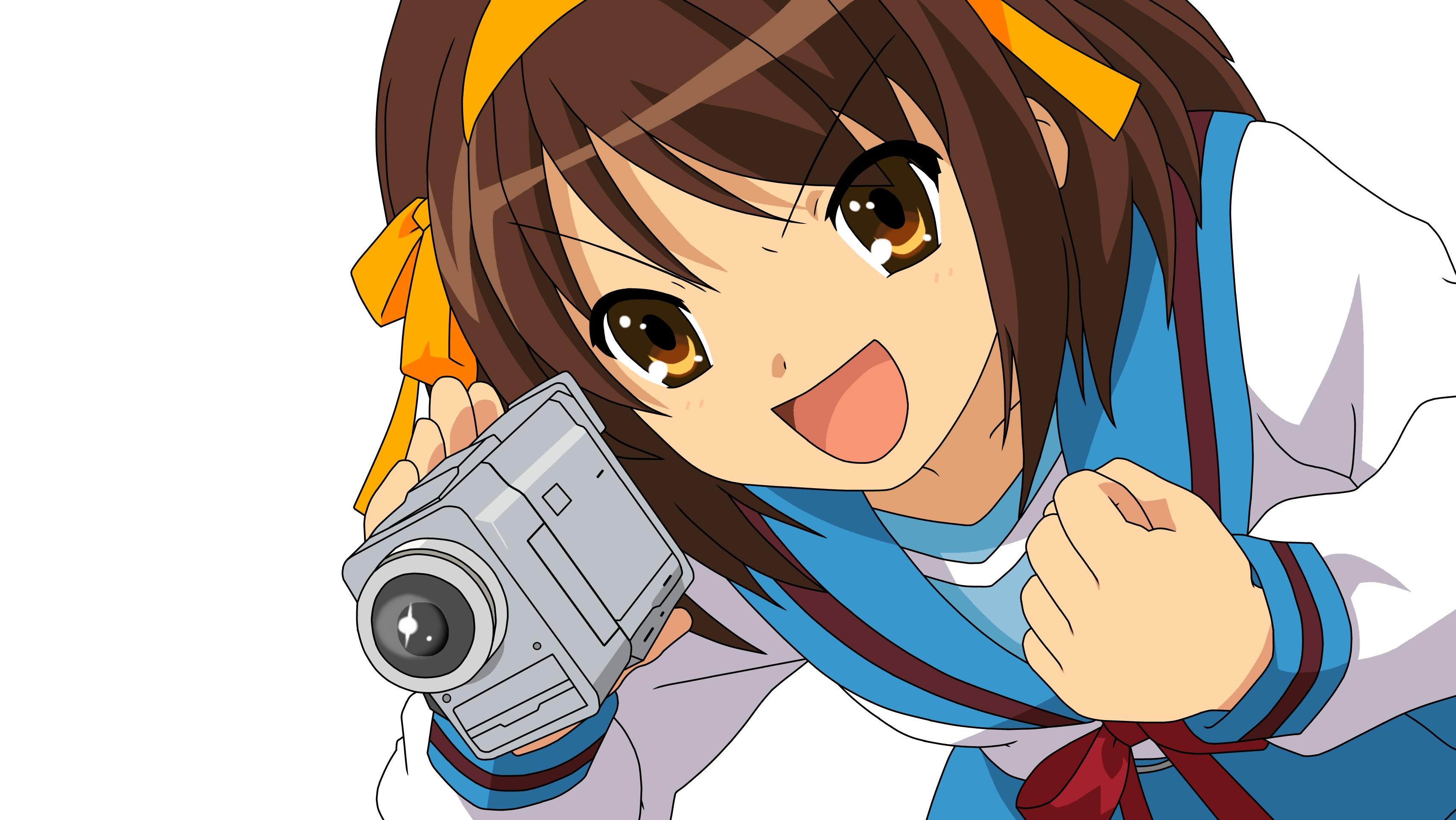 The Melancholy Of Haruhi Suzumiya Full HD Wallpaper and ...