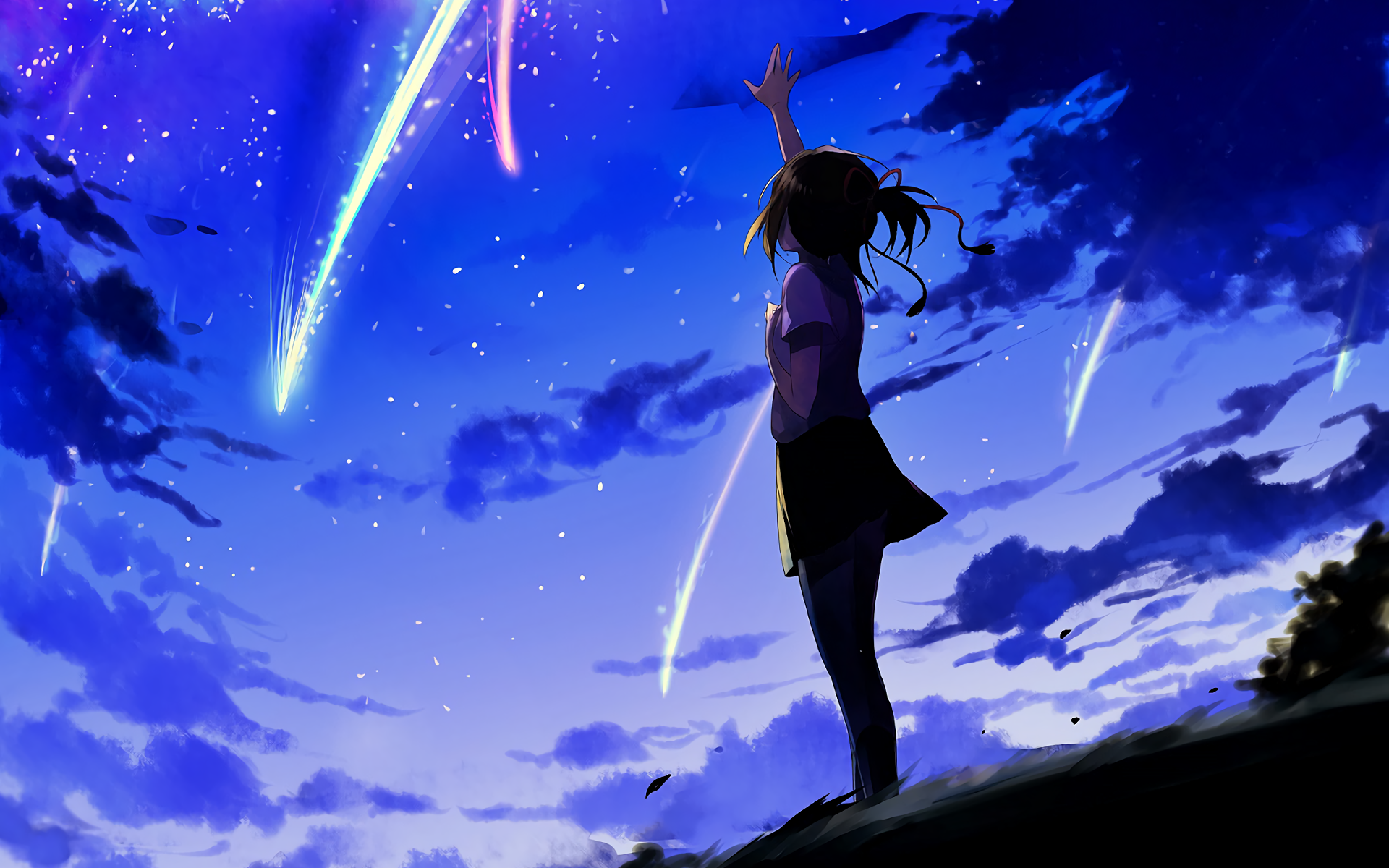 Anime Wallpapers  Kimi no Nawa HD 4K Download For Mobile iPhone & PC