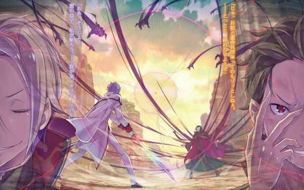 Anime Re:ZERO -Starting Life in Another World- Subaru Natsuki Julius Juukulius HD Wallpaper | Background Image