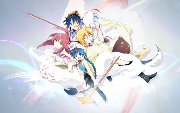 Anime Magi: The Labyrinth Of Magic HD Wallpaper | Background Image