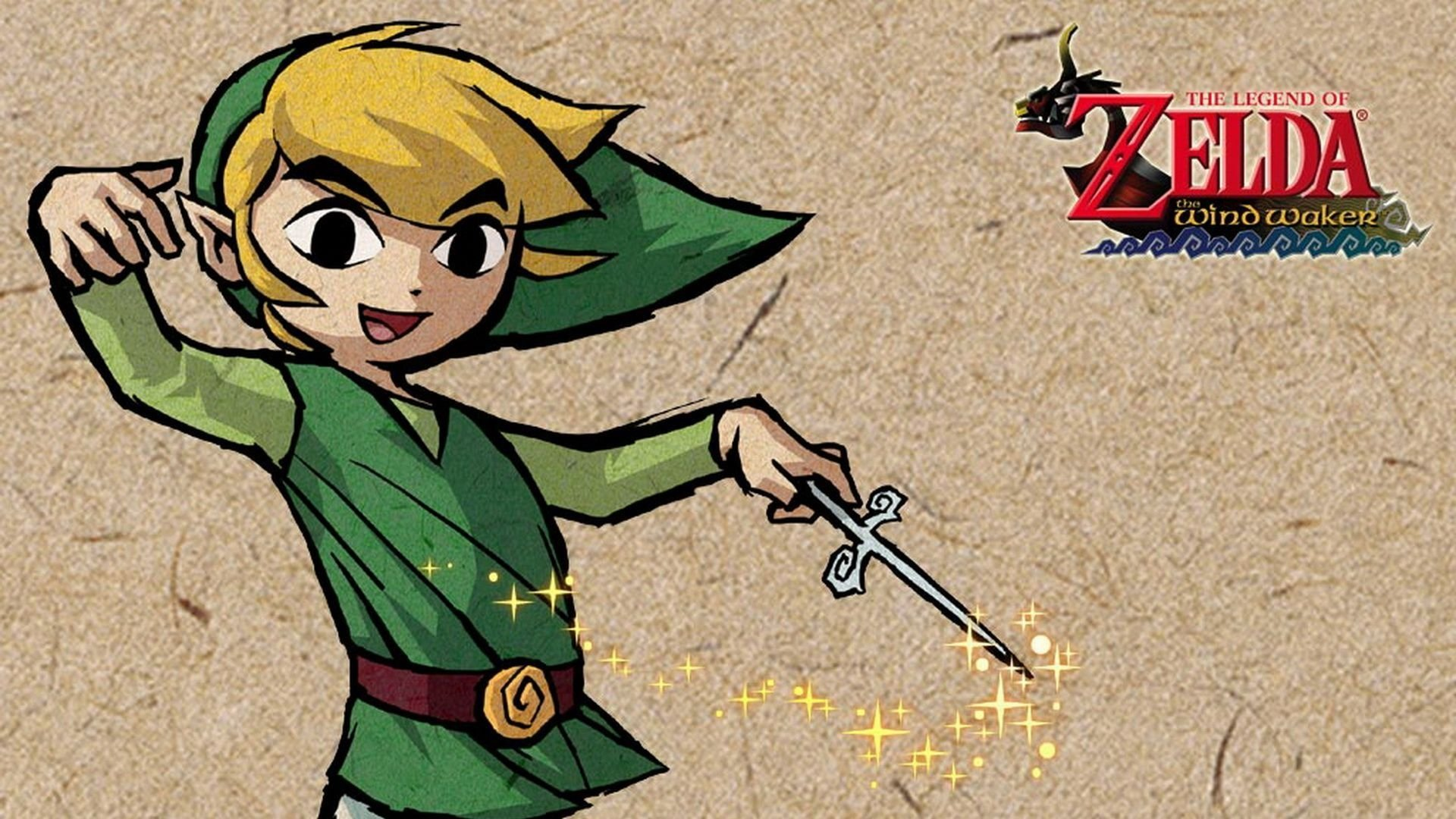 the legend of zelda the wind waker full hd wallpaper and