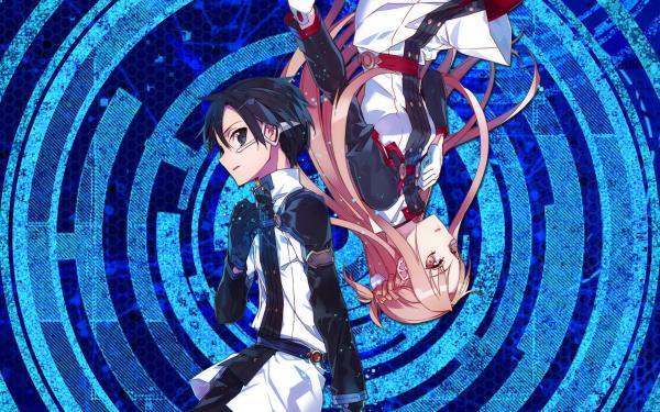Anime Sword Art Online Movie: Ordinal Scale Sword Art Online Asuna Yuuki Kirito Kazuto Kirigaya Sword Art Online Ordinal Scale HD Wallpaper   Background Image