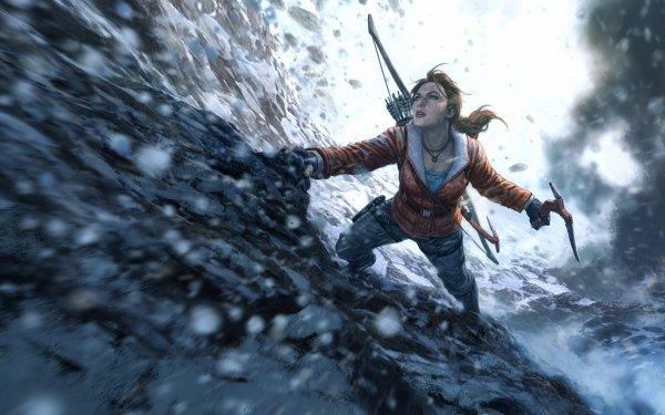 Jeux Vidéo Rise of the Tomb Raider Tomb Raider Lara Croft Woman Artistique Fond d'écran HD | Arrière-Plan