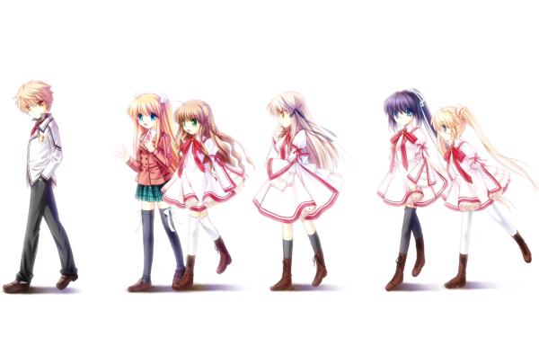Anime Rewrite HD Wallpaper | Background Image