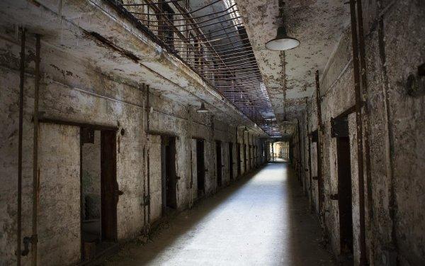 Man Made Prison Jail Abandoned Creepy HD Wallpaper | Background Image